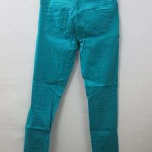 Ag Adriano Goldschmied Pants - AG The Legging Super Skinny Ankle Teal Pants 25R